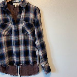 Anthropologie Cloth & Stone | Plaid Button Up